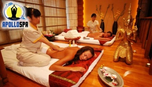 1-Hour Thai or Swedish Massage with Hot Towels & Hot Stones