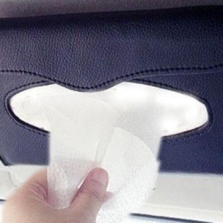 Car Visor Refillable Tissue Holder