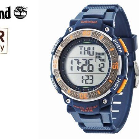 Timberland TBL 13554JPBLU/04 Digital Blue & Orange Cadion ...