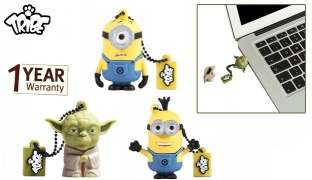 Tribe USB 2.0 Flash Drive 16GB - Despicable Me Carl