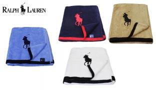 Ralph Lauren Cotton Beach Towel - Beige