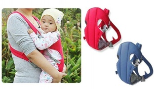 Adjustable Straps Baby Carriers - Red