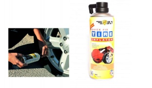 Quick Fix Tire Fluid Inflator With Hose 450 ml