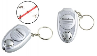 Ultrasonic Electronic Anti Mosquito Repellent Keychain