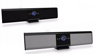 Touch Control TG018 Portable Wireless Bluetooth Soundbar Super Bass Speaker With Remote Control - Black