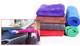 Multi-purpose Microfiber Cleaning Cloths - Pink