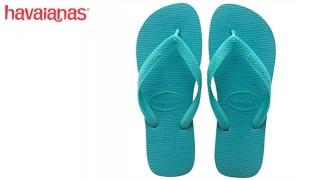 Havaianas Top Lake Green Flip Flop For Women Size: 35