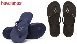 Havaianas Ring Flip Flop For Women - Black - Size: 39