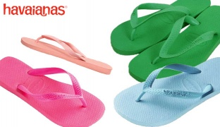 Havaianas Top Flip Flop For Kids - Mint Green - Size: 33