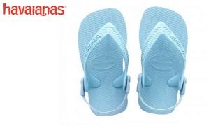 Havaianas Baby Top Light Blue Flip Flops For Kids - Size: 20