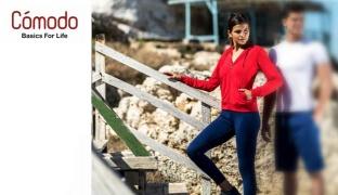 Comodo Lightweight Jogging Wear Jacket For Women - Navy Blue - Small
