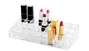 Design Acrylic Cosmetic Organizer For Lipstick 36 Parts