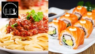 Sushi & Italian Cuisine Off The Menu