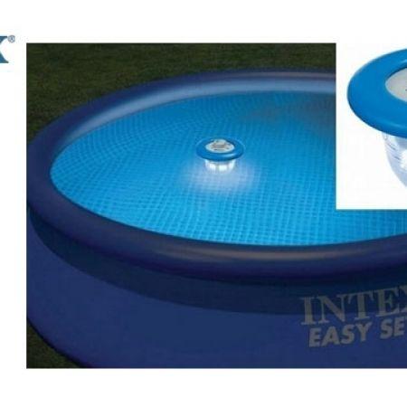 intex floating led pool light makhsoom. Black Bedroom Furniture Sets. Home Design Ideas