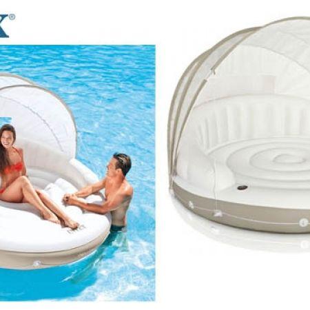 sc 1 st  Makhsoom & Intex Inflatable Canopy Island Float Lounge 199 x 150 cm - Makhsoom