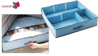 Under Bed Shoes Organiser - Dark Blue