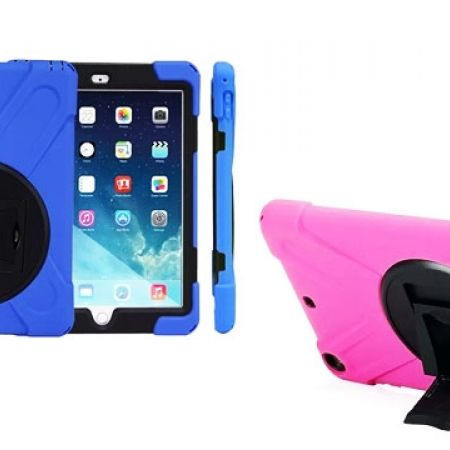 Heavy Duty Shockproof High Impact Resistant Multi-Layer Full Body Cover For  iPad Air 2
