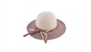Straw Classy Ribbon Summer Hat For Women