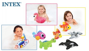 Intex Inflatable Puff & Play Water Toys 28 x 20 cm - Dallas The Dinosaur