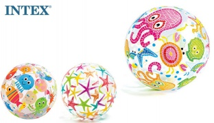 Intex Inflatable Print Beach Ball 61 cm - Coral Reed Fish