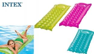 Intex Inflatable Relax Wave A Mattress 183 x 69 cm - Pink