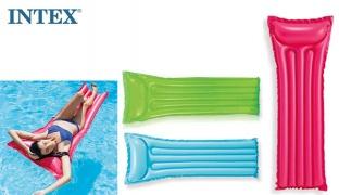 Intex Inflatable Glossy Economats 183 x 69 cm - Blue
