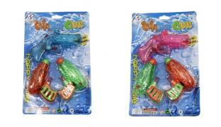 Set Of Happy Time Water Gun 3 Pcs - Pink/Green/Orange