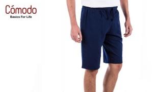Comodo Lightweight Jogging Style Wear Short - Black - Medium