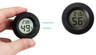 Professional Celsius Digital Thermometer Humidity Hygrometer