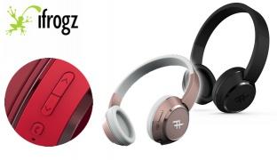 iFrogz Audio Coda Wireless Headphone With Mic - Black