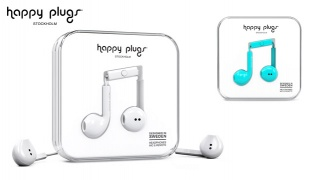 Happy Plugs In-Ear Earbud Plus - Turquoise