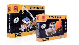 City Build Mechano Toys - Road Roller 97 Pcs