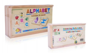 Intellectual Wooden Puzzle Game - Mathematics