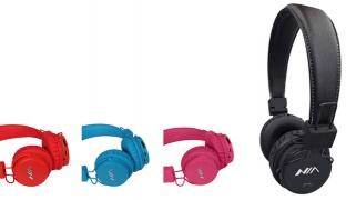 Nia XP1 Wireless Bluetooth Stereo Headset - Black