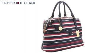Tommy Hilfiger Printed Striped Hobo Bag For Women