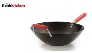 """Thinkkitchen Carbon Steel Wok Kublai 14"""""""
