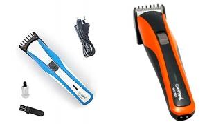 Gemei Professional Hair Trimmer For Men - Orange