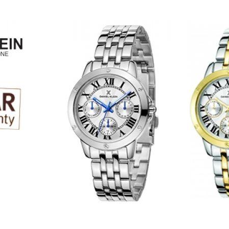 Daniel Klein DK11073-S Stainless Steel Classy Watch For Women - Silver