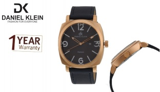 Daniel Klein DK10204 Premium Navy Blue & Gold Watch For Men