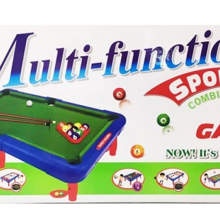6 In 1 Game Tabletop Indoor Toy 43 X 24.5 X 12 Cm