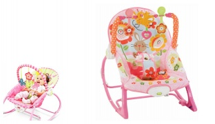 Infant To Todldler Pink Rocker Chair