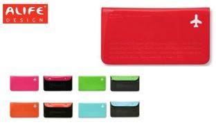 Alife Design Happy Flight Series Travel Pouch - Red