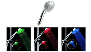 LED Shower Head Magic Temperature Display Color Changing