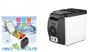 Portable Cooling & Warming Car Refrigerator 6 L