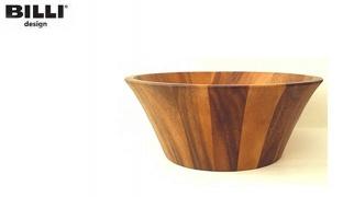 Billi Design Wooden Salad Bowl