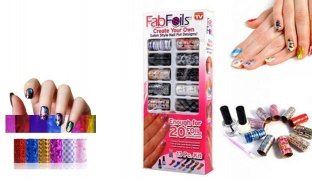 Fabfoils Salon Style Nail Foil Kit Design