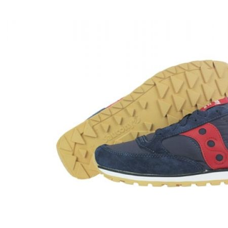 promo code 43ead 87484 Saucony Jazz Low Pro Original Navy Blue   Red Running Shoes For Men - Size