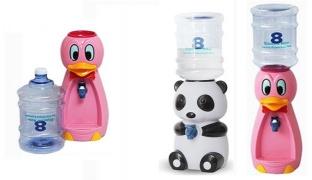 Kids Mini Cute Water Dispenser 2.5 L - Panda