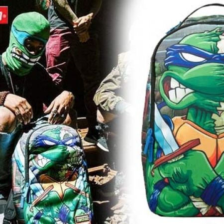da9cbaca7ba Sprayground Backpack TMNT Leo Skull DLX - Makhsoom