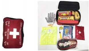 All-In-One Small Ultimate Emergency Car Kit